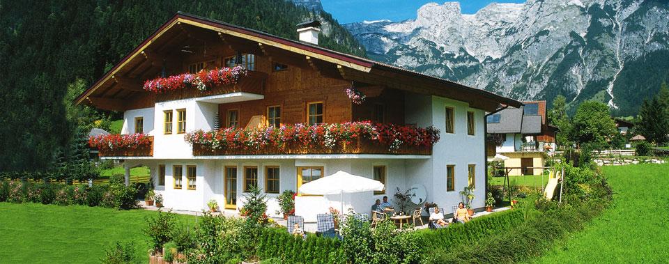 Willkommen auf den Seiten des Haus Alpenflora!